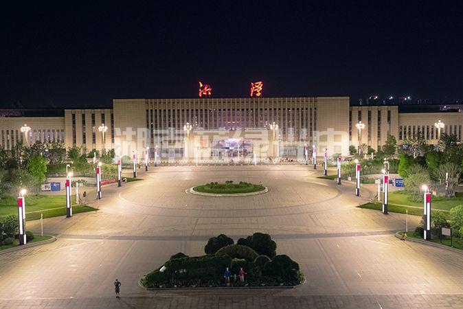 湘潭火车站夜景65
